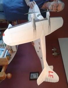 Foam Built Model Airplanes