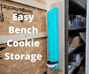 Easy Bench Cookie Storage