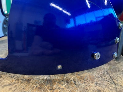 Drilling Fasteners Into Outer Visor Guard
