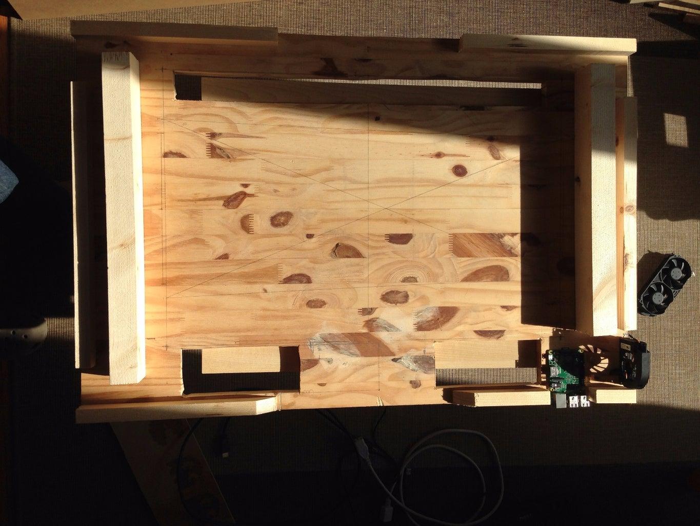 Build the Wooden Enclosure