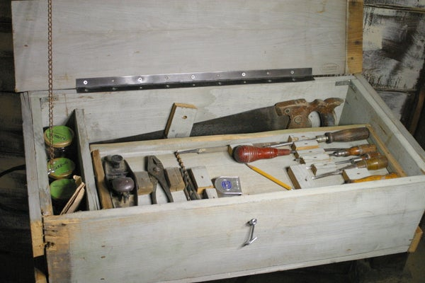 Make Your Own FREE Toolbox With Only Inexpensive Hand Tools