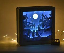 Christmas Lightbox - Files for Laser