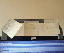 Post-it Support for Laptop