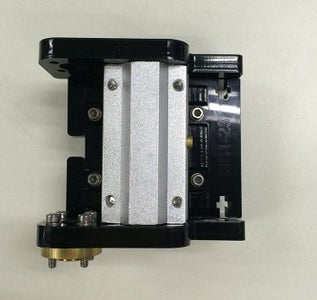 Assemble the Left End of the X Axis(motor End)