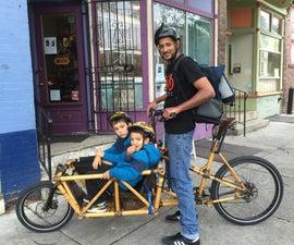 Bamboo Cargo Bike (Tiki Bike) - Updated 12/8/2017