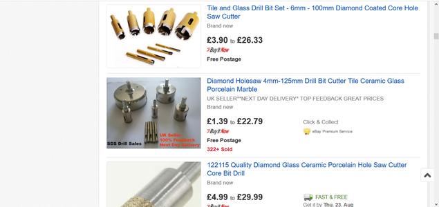 Buy Specialist Drill Bits