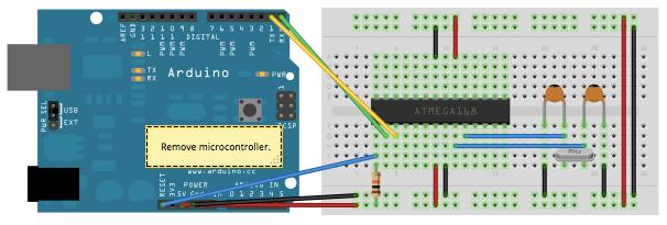 Standalone Arduino.