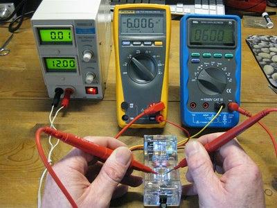 Testing the Voltage Rails