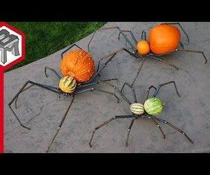 蜘蛛南瓜-蜘蛛恐惧症杰克灯