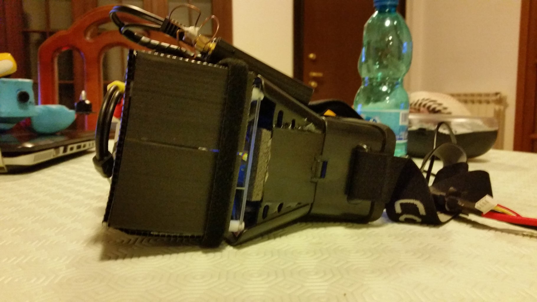 FPV Goggles With Local to Remote View Switch, With Local Infrared Camera