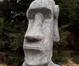 Moai From Recycled Foam