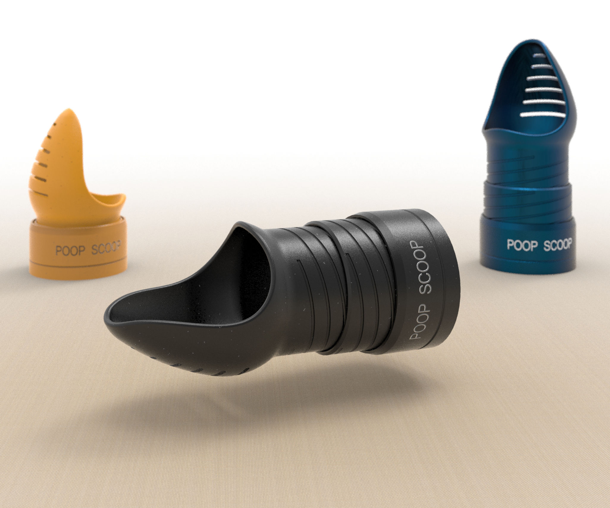 POOP SCOOP - a Compact and Handy Tool for All Types of Pets Owners