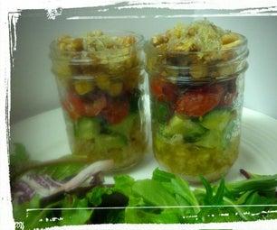 Hipster Bulgar Salad W/ Olive Oil Dressing