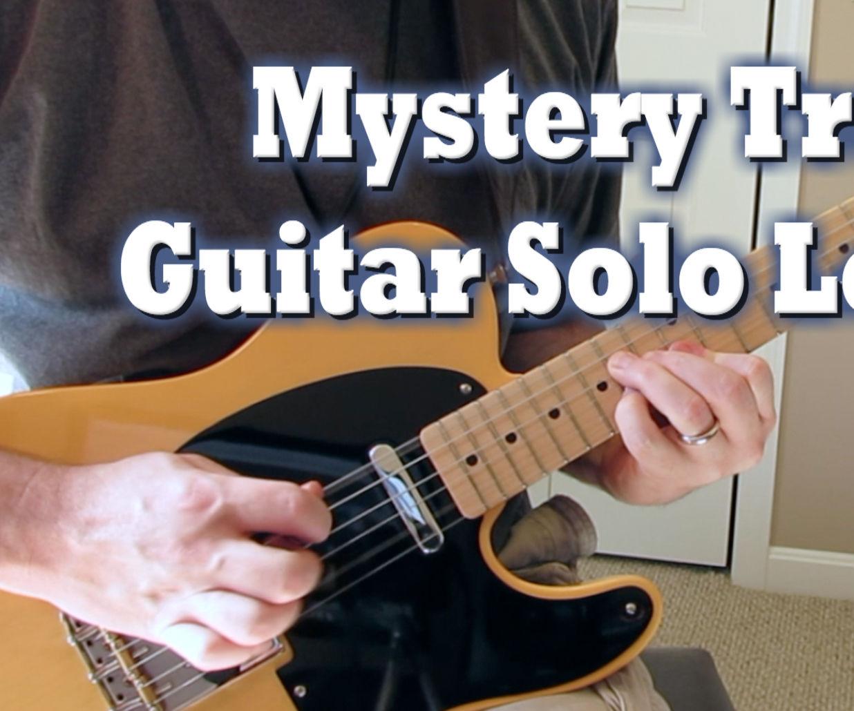 Mystery Train Guitar Solo