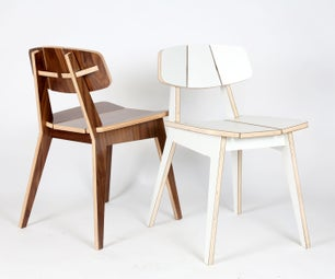 P9C - Chair Made With CNC Router