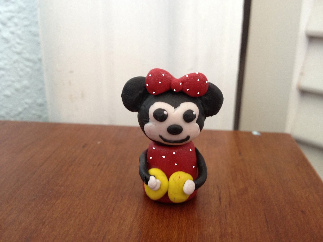 How to Make a Minnie Mouse Out of Polymer Clay