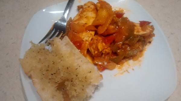Chicken & Pepper Curry
