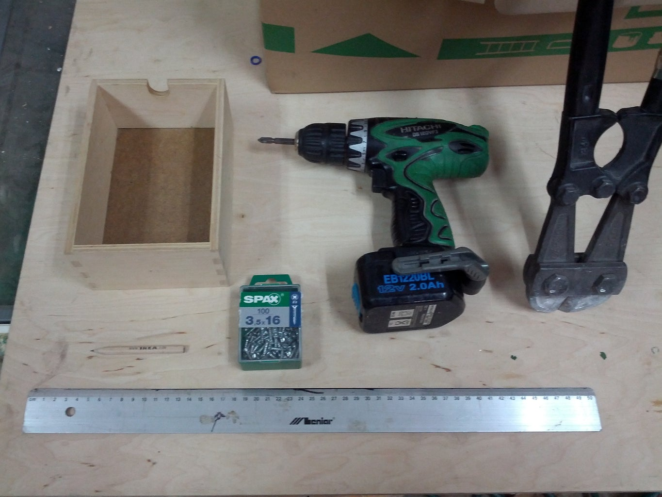 Required Parts and Tools