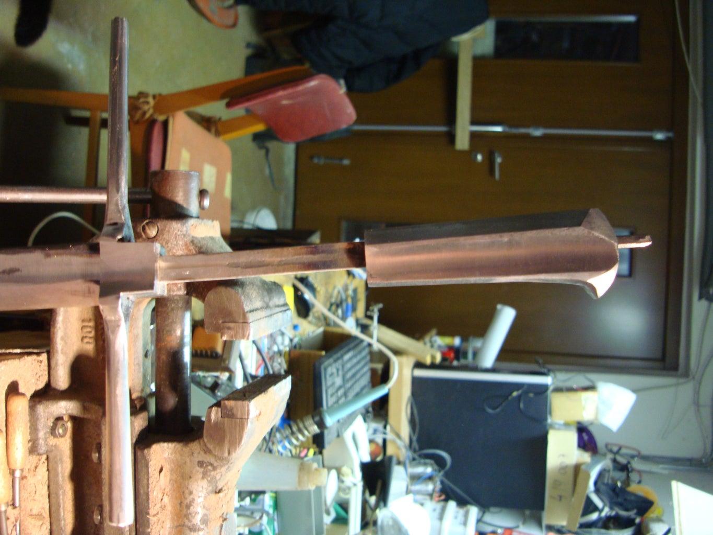 Making the Pommel.