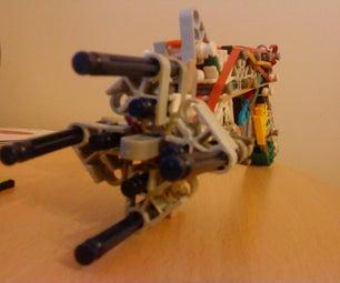 TP4 K'nex Turret Pistol