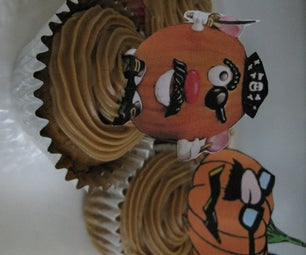 Pumpkin Cupcakes With Brown Sugar Frosting