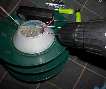 Drill Circuit Attachment Holes