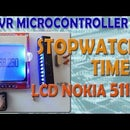 AVR Microcontroller. Stopwatch - Timer with the feature of display on LCD