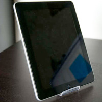 Sleek iPad Stand