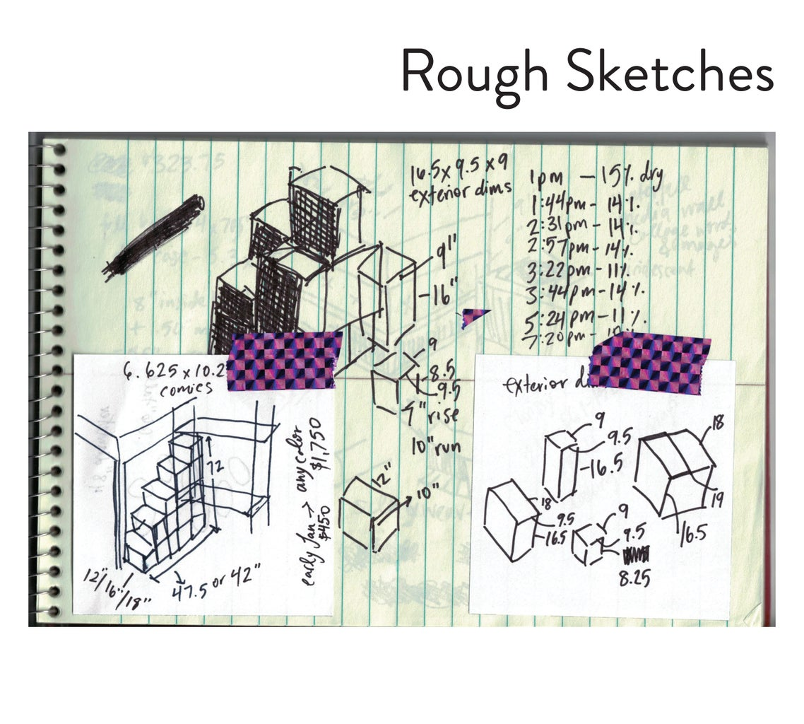 Inspiration & Rough Sketches