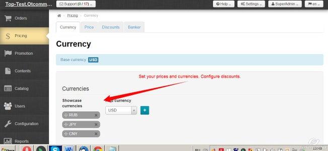 Configure Pricing
