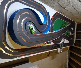 Scalextric Track MDF for Slot Car