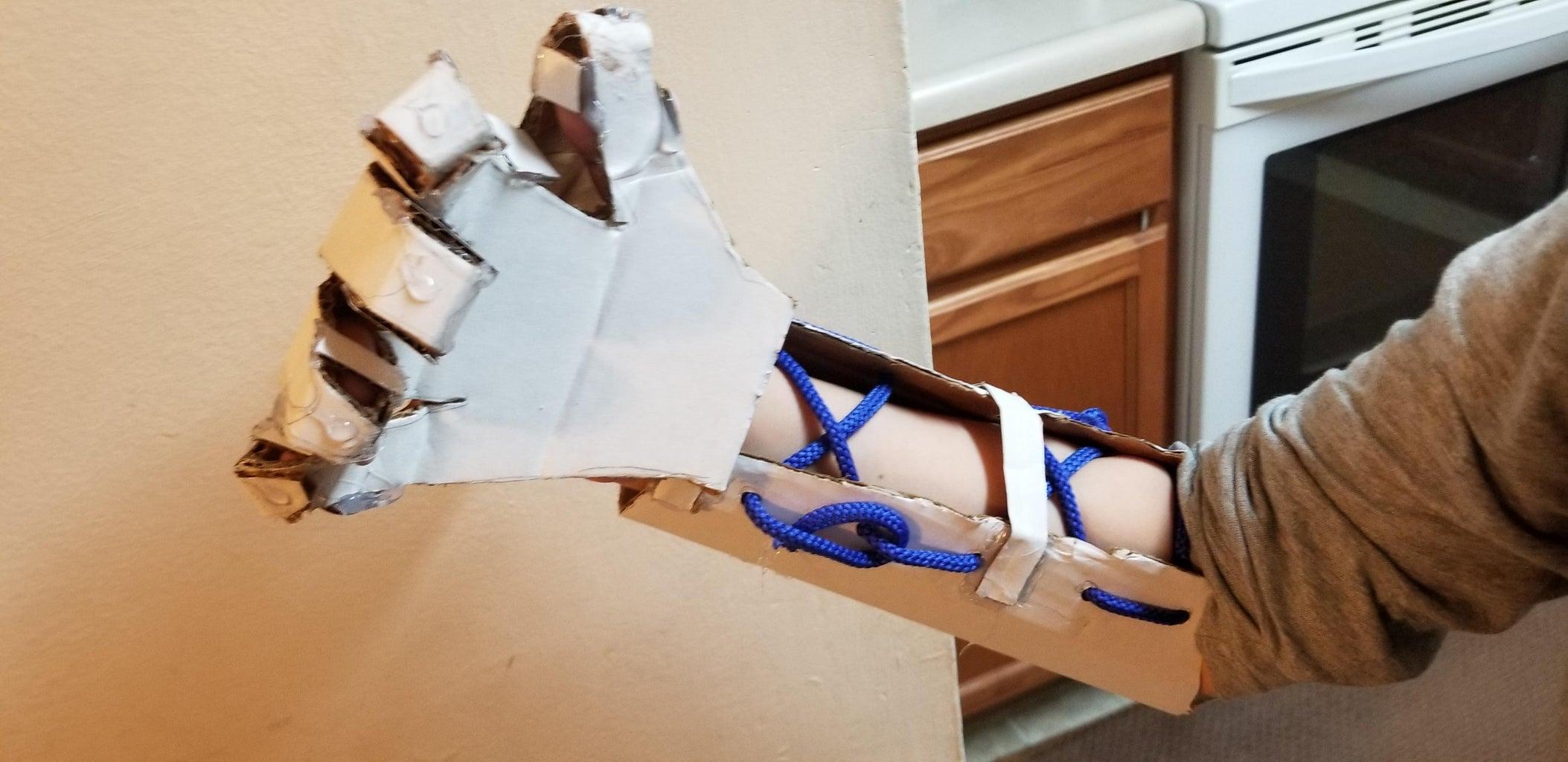 Cardboard Glove