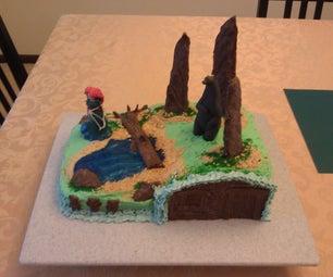 "Birthday Cake Inspired by the Movie ""Brave"""