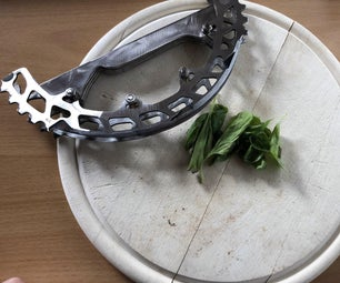 Sprocket Chopping Knife