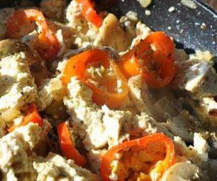 How to Make Vegan Tofu Scrambled Eggs | Easy Breakfast Recipe