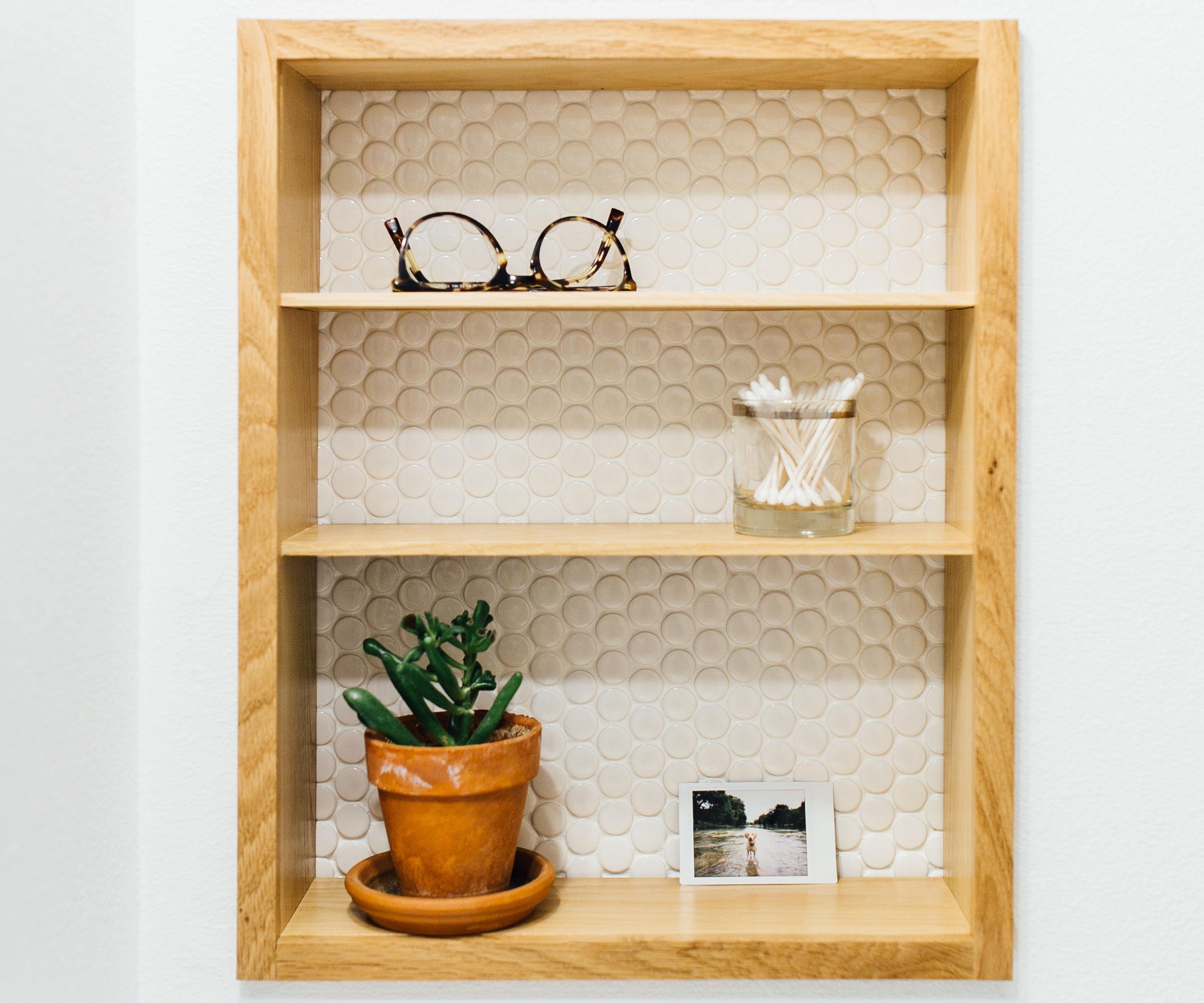 Modern Medicine Cabinet Makeover