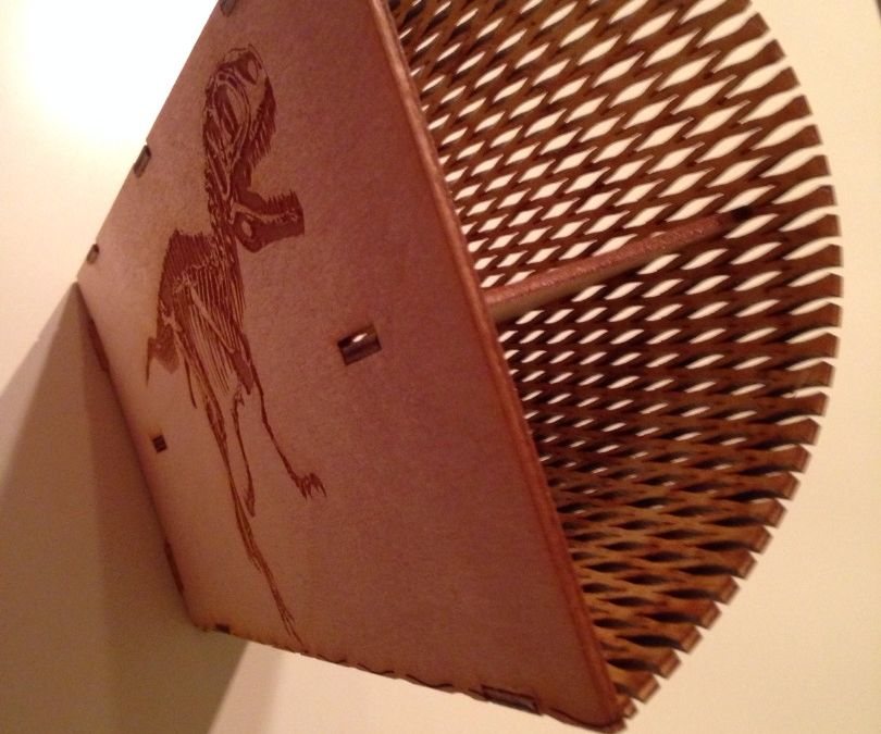 Laser Cut Dinosaur Box