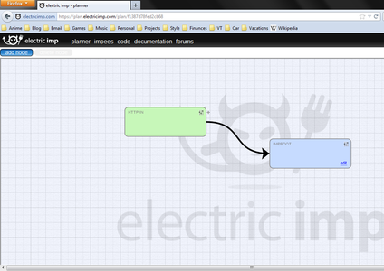Write Electric Imp Code