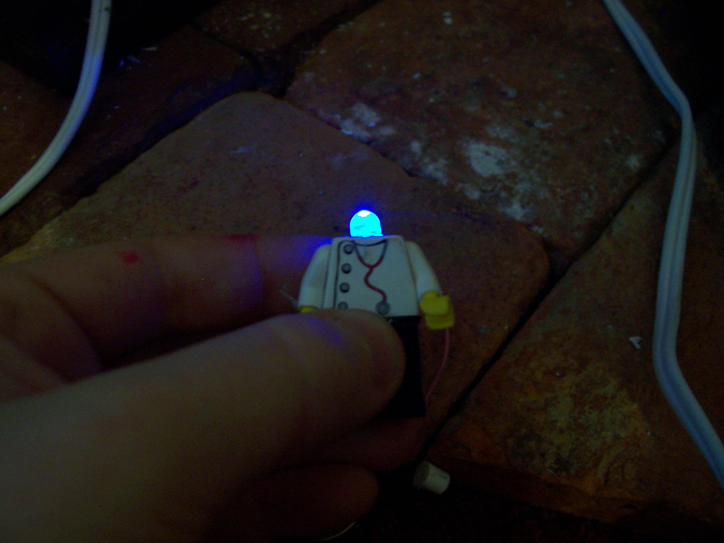 LED Lego Guy