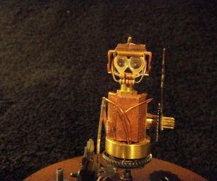 MIN STEAM PUNK / DIESEL LEGO MIN CRUSHER ROBOT