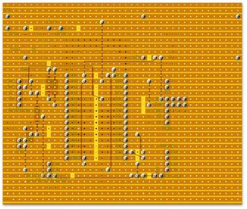 Vero Board Layout 30 Pin ESP32