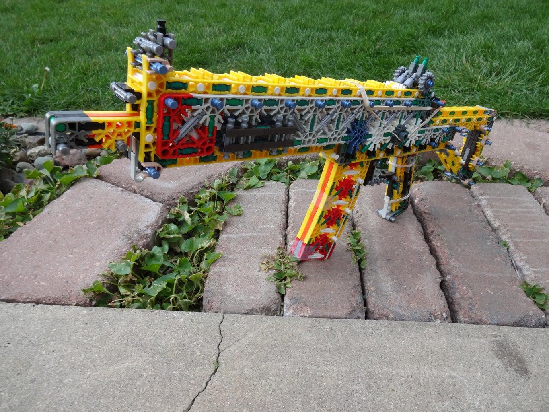 K'NEX Gun: Reliable (R3) (Build)