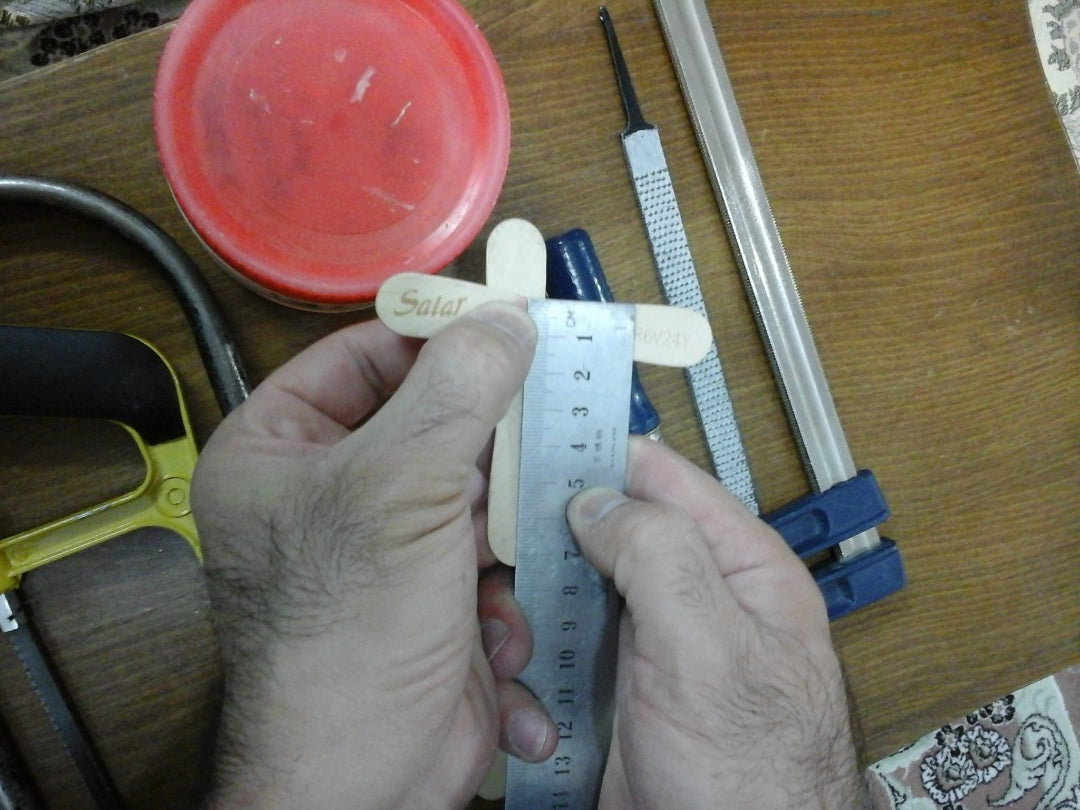 Tools and Measurements,then Start