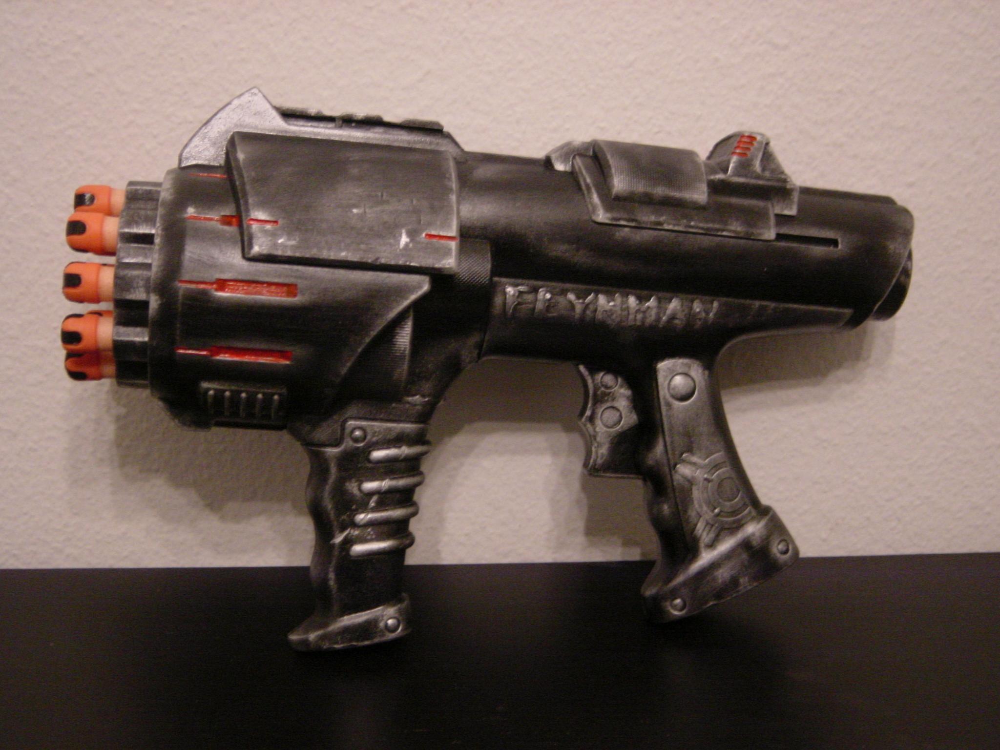 Gunmetal Nerf Paintjob