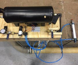 Remote Controlled Pneumatic Cylinder