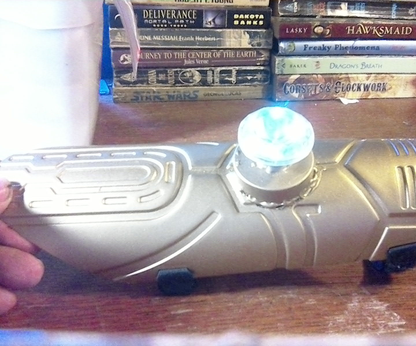 Pair of Steampunk-like Gauntlets From Dollar Tree Halloween Accessories.