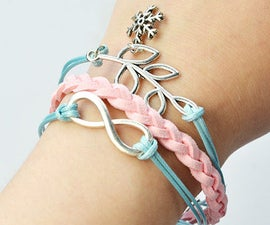 Beebeecraft Tutorials on How to Make Braided Faux Suede Bracelet