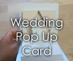 Wedding Themed Popup Card