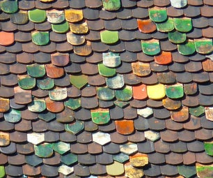 Decorative Plastic Tiles From Waste Plastic