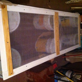 Pallet Screen Door